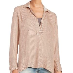 Free People S On The Road Striped Tunic